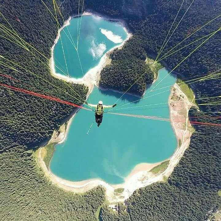 booking accommodation black lake from the air durmitor zabljak