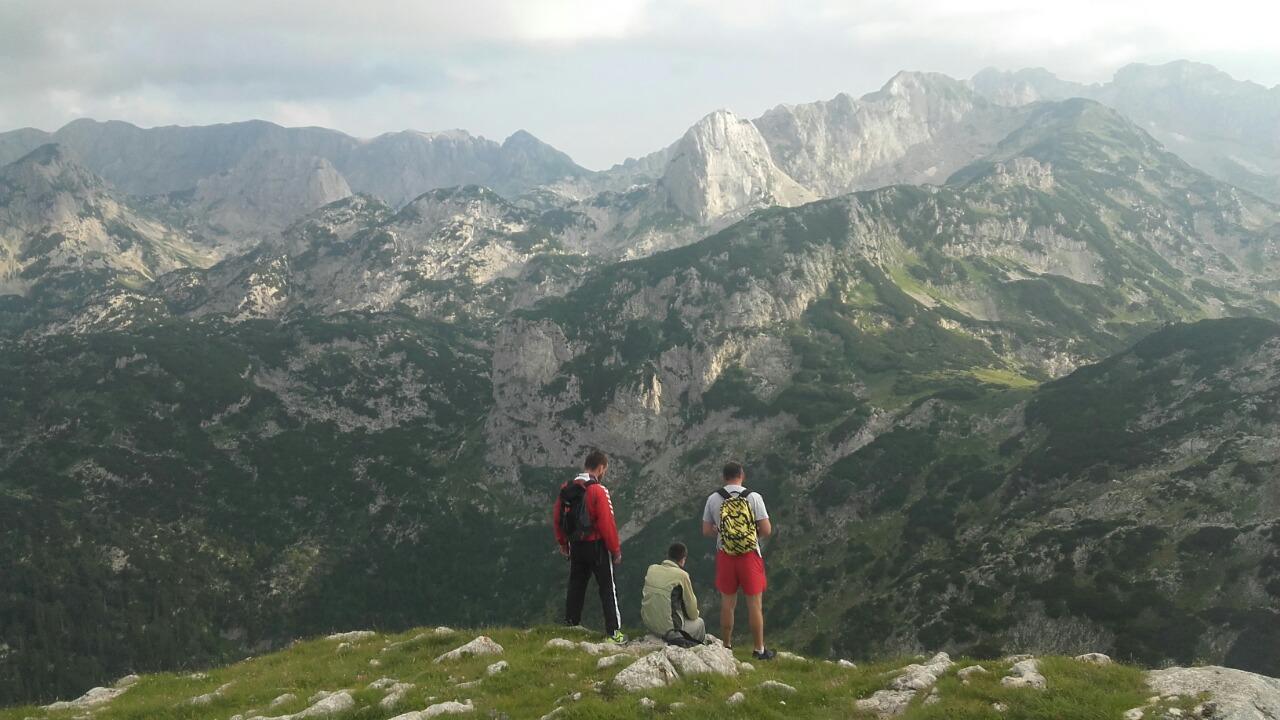 booking accommodation view crvena greda mountain peak into the wild durmitor zabljak