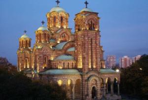 belgrade church of saint mark