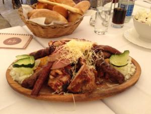 belgrade serbian main course