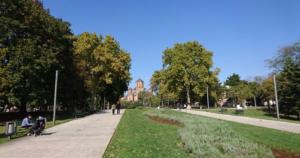 belgrade tasmajdanski park tasmajdan